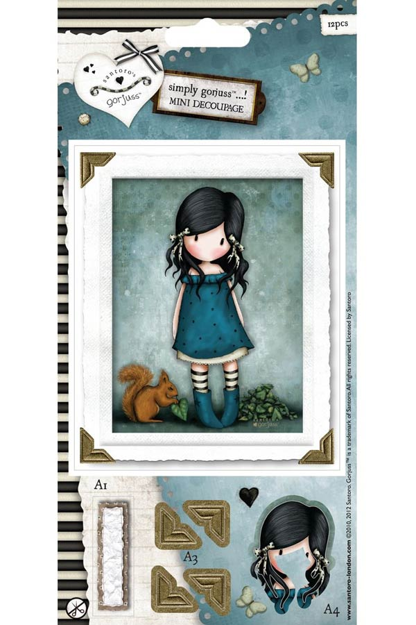 Χαρτόνια scrapbooking Santoro gorjuss - You brought me love GOR157105