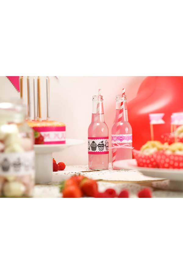 Σφραγίδα roller PLUS ροζ καρδιές 38-935