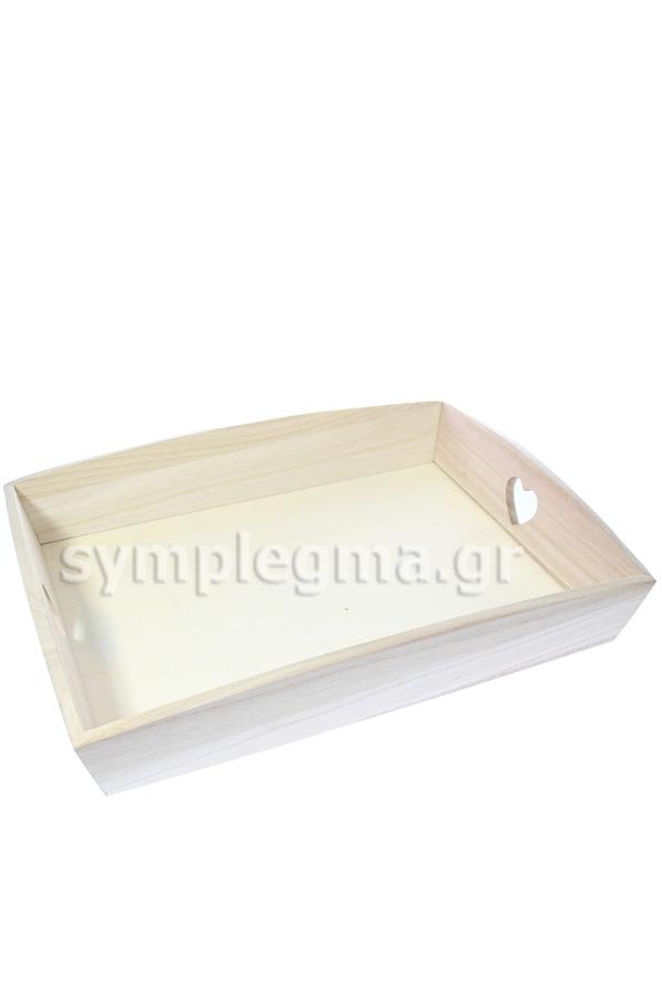 Δίσκοι σερβιρίσματος ξύλινοι σετ 3 τεμ Artemio VIPBC 4828