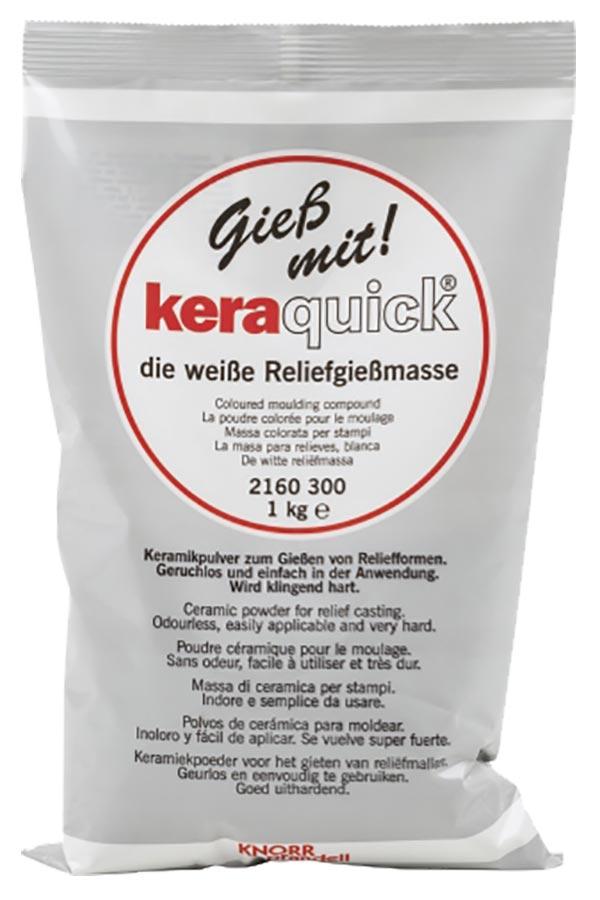 Γύψος καλλιτεχνίας keraquick 1kg Knorr prandell 2160300