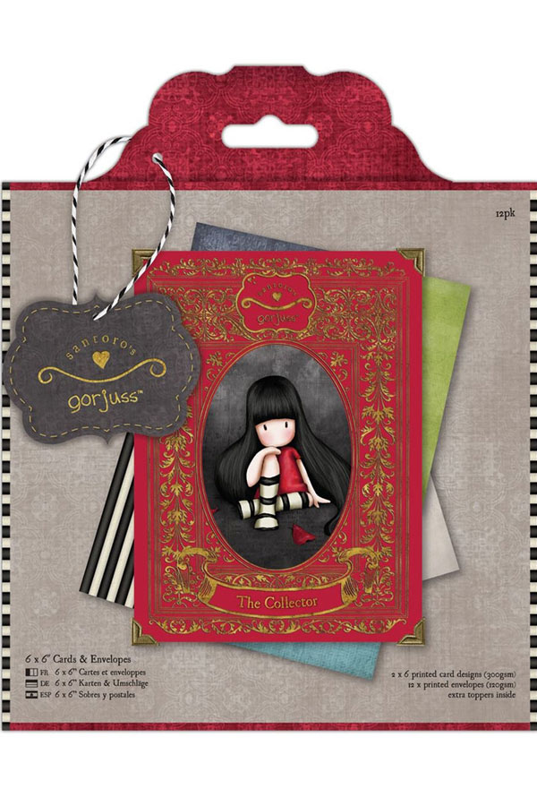 Κάρτες scrapbooking Santoro gorjuss - The collector GOR150602