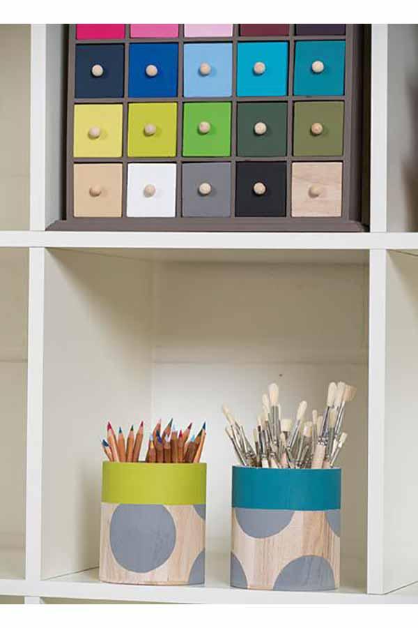 Συρταριέρα ξύλινη 33x33cm Artemio 140021073