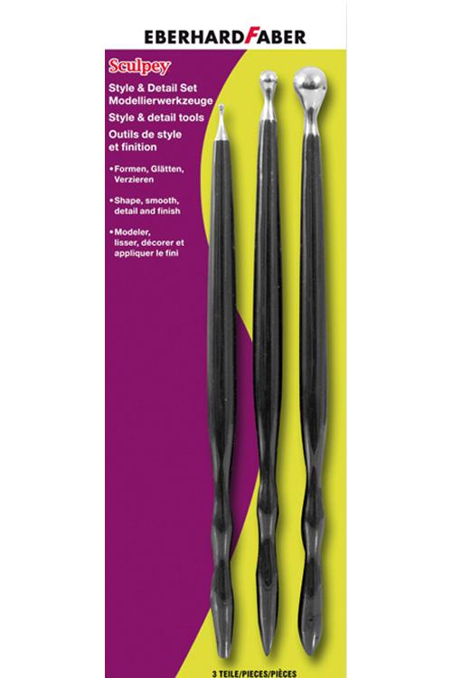 Εργαλεία γλυπτικής 3 τεμάχια EBERHARD FABER 571305
