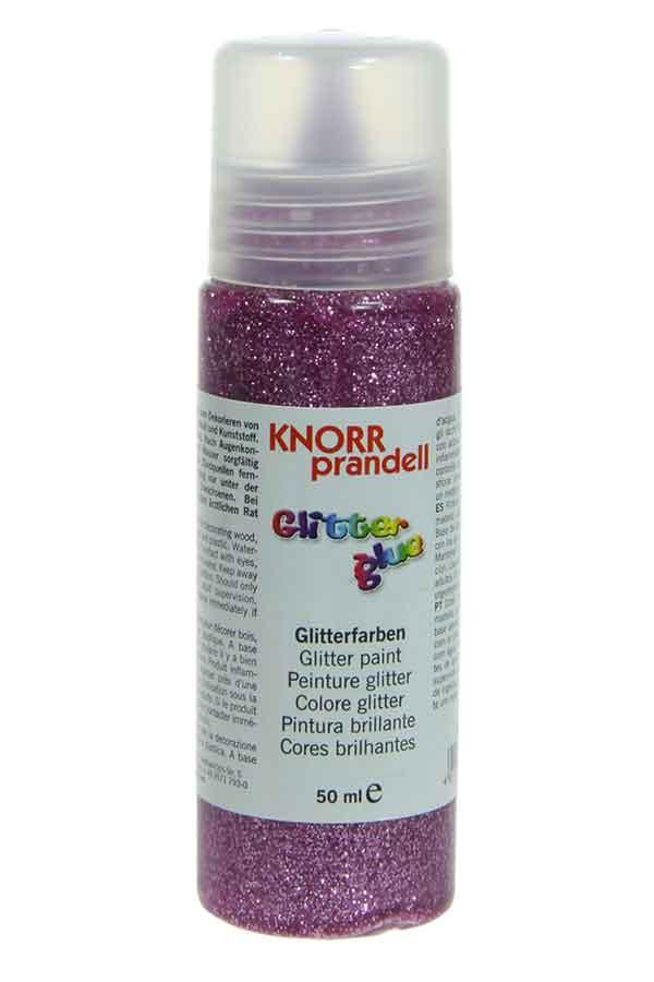 Κόλλα glitter Knorr prandell βιολετί ιριδίζουσα 50ml 218099023