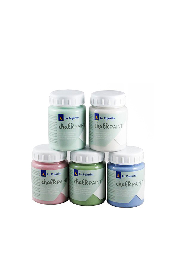 Χρώμα κιμωλίας Chalk Paint 75ml La Pajarita μπεζ Jasmine Flower CP-02