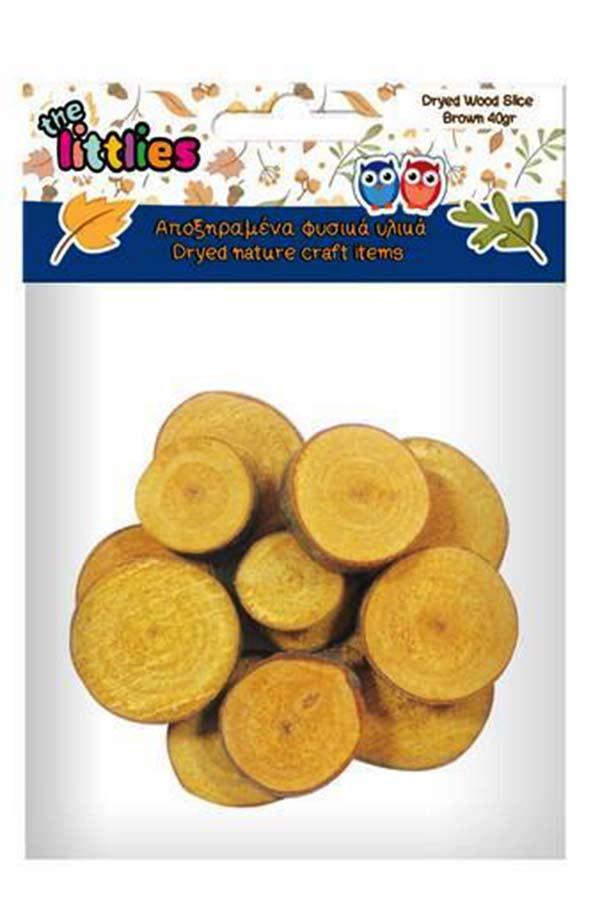 Αποξηραμένοι κορμοί κίτρινοι 40gr the littlies 004620175
