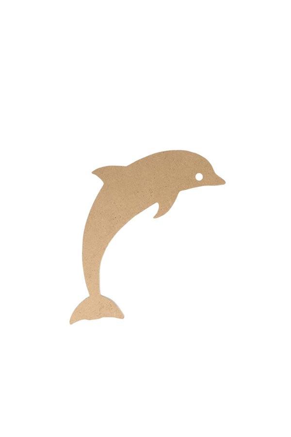 Ξύλινο δελφίνι MDF Silhwood 15x4cm 14002183