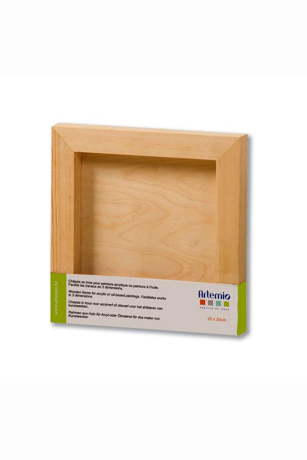 Κάδρο τετράγωνο ξύλινο 15x15cm Artemio VITAB1515