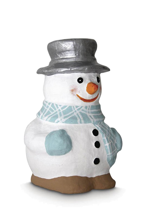 Papier mache Χιονάνθρωπος 9x16cm Rayher 71949000