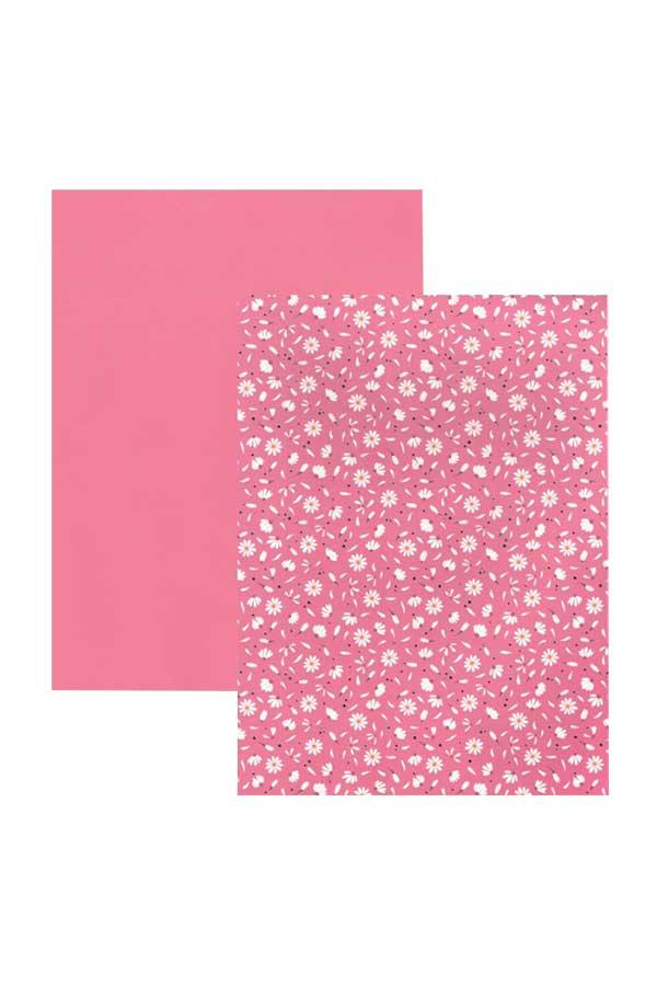 Χαρτόνι 21x30 τυπωμένο Daisy pink HEYDA 20-4772760