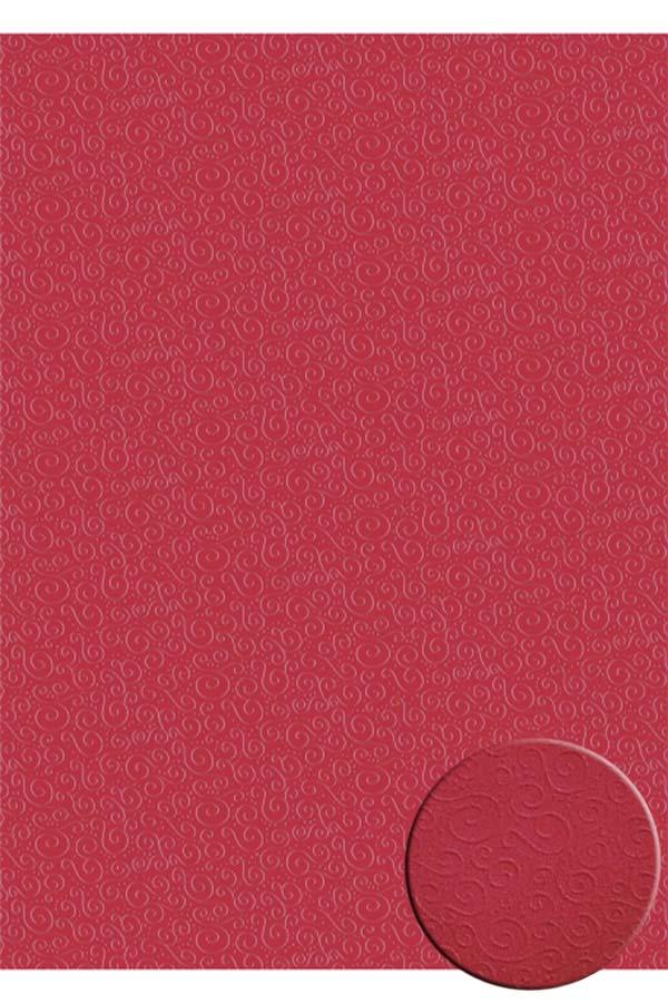 Χαρτόνι 50x70 κόκκινο με ανάγλυφα σχέδια HEYDA 204772262