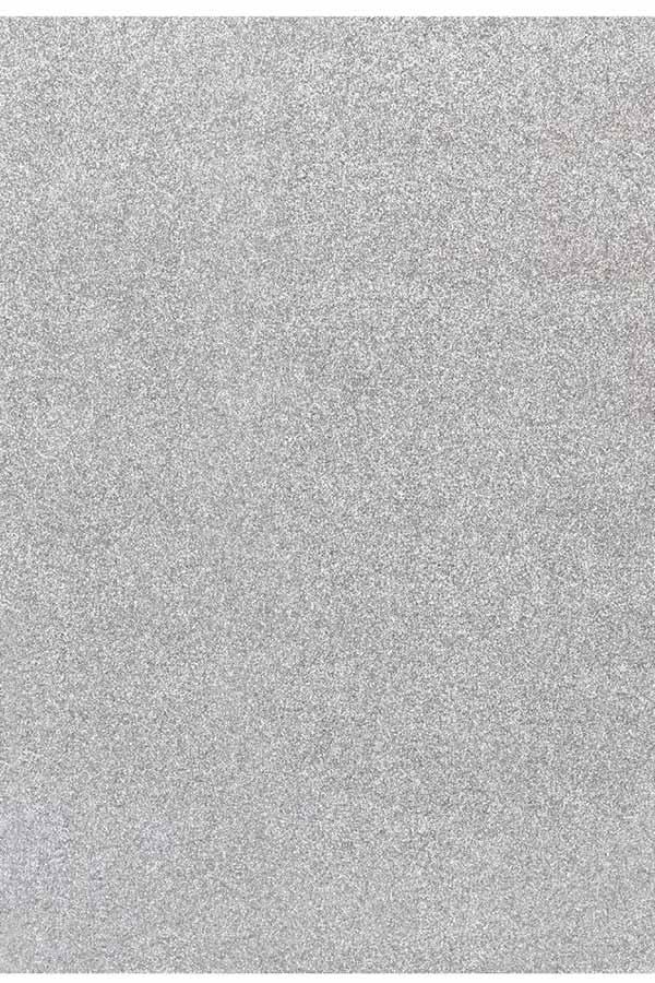 Χαρτόνι glitter 50x70cm 250gr ασημί 1901510