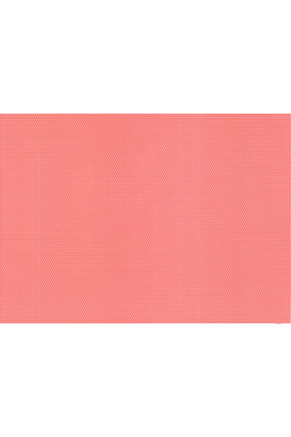Χαρτόνι 50x70 τυπωμένο 2 όψεις πουά κοραλί - άσπρο URSUS 12172226