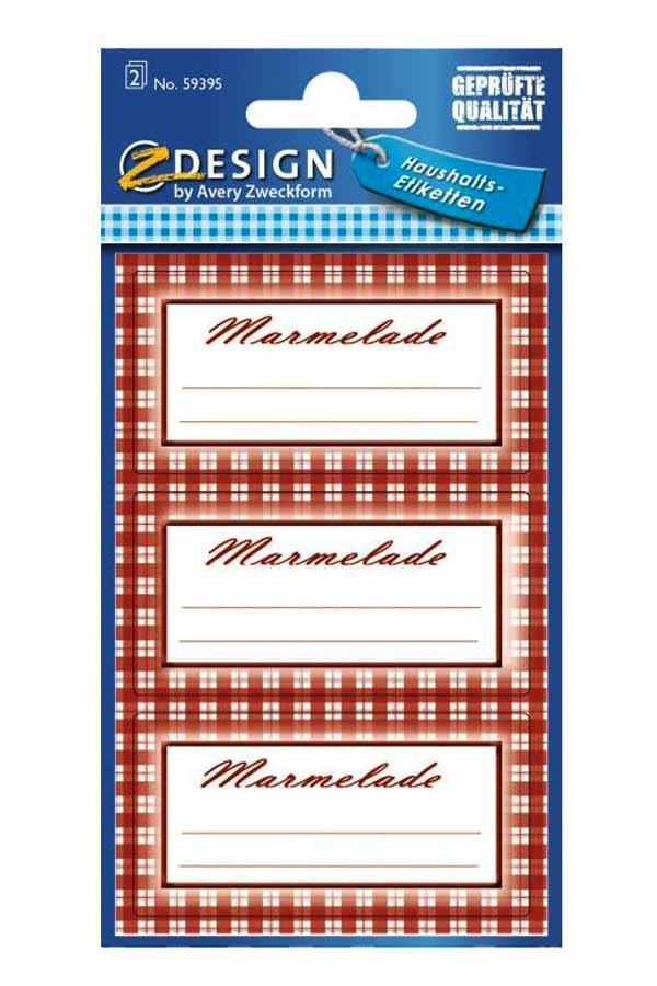 Ετικέτες αυτοκόλλητες Avery marmelade 59395