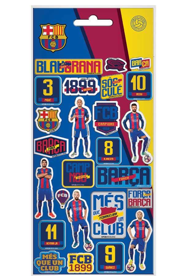 Αυτοκόλλητα FC Barcelona 0170619