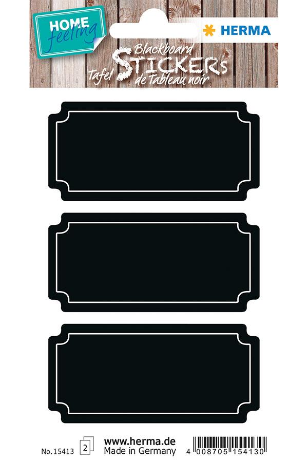 Ετικέτες αυτοκόλλητες πινακάκια κιμωλίας HERMA 15413