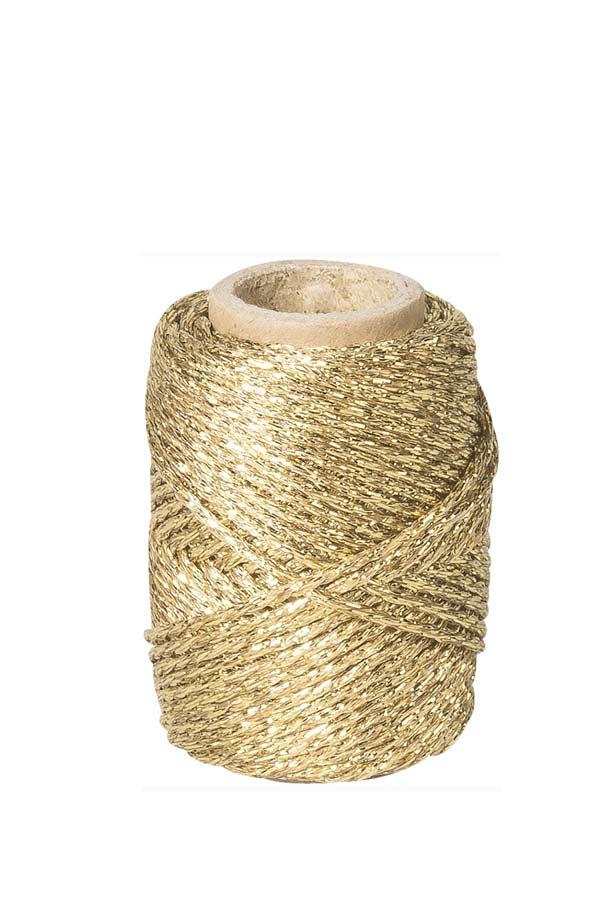 Κορδόνι μεταλλικό χρυσό 20m Knorr Prandell 216266171