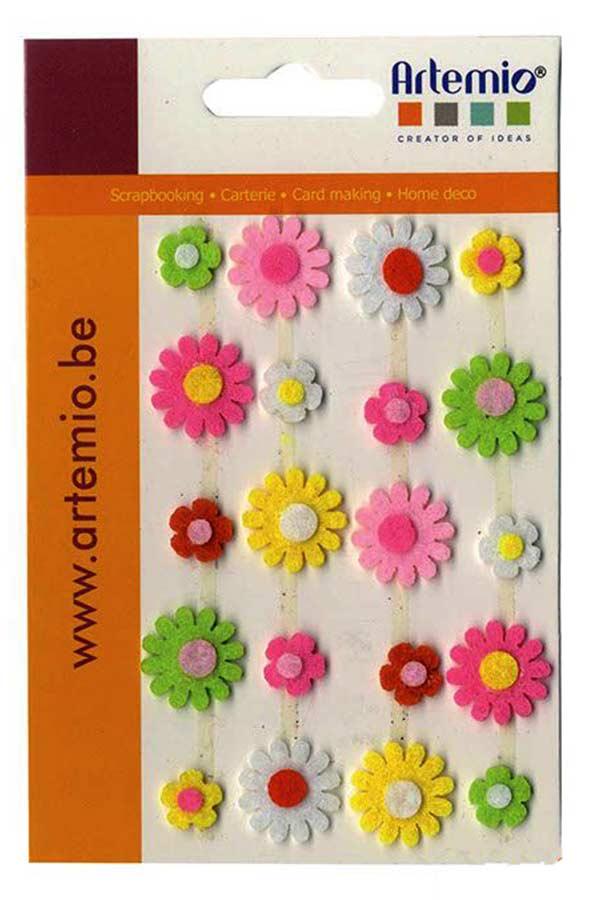 Λουλούδια τσόχας 20 τεμ. Artemio 1307014