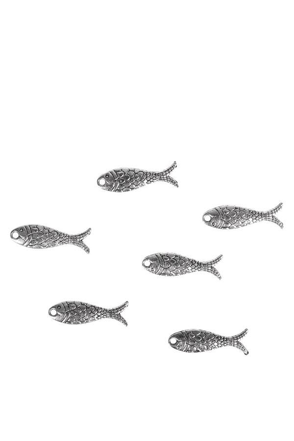 Μεταλλικά ψάρια κρεμαστά 14τμχ Rayher 46028000