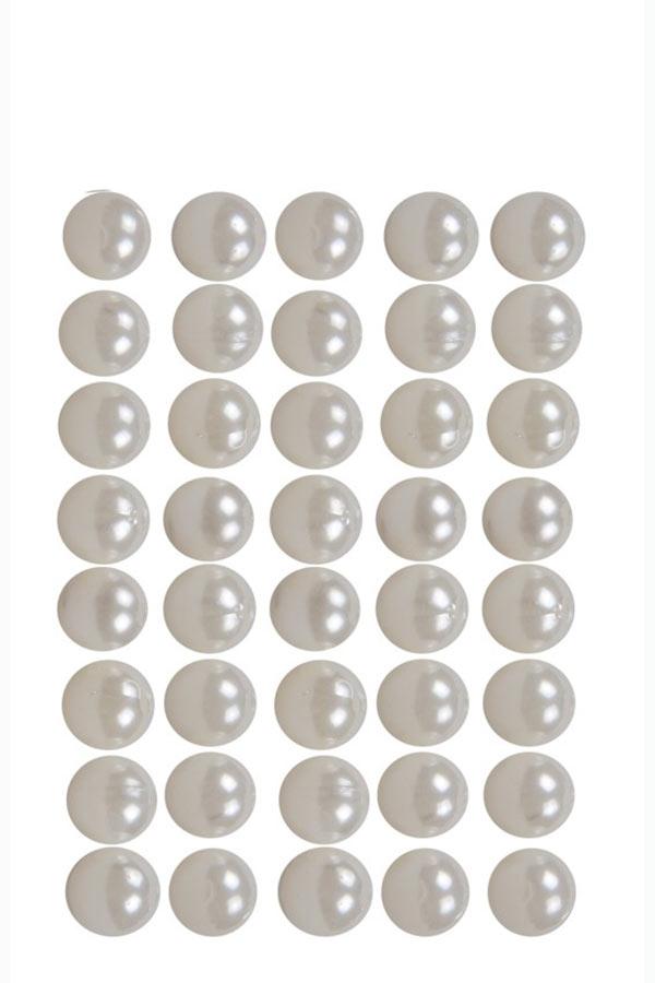 Πέρλες λευκές 10mm 40gr I-MONDI 10310002