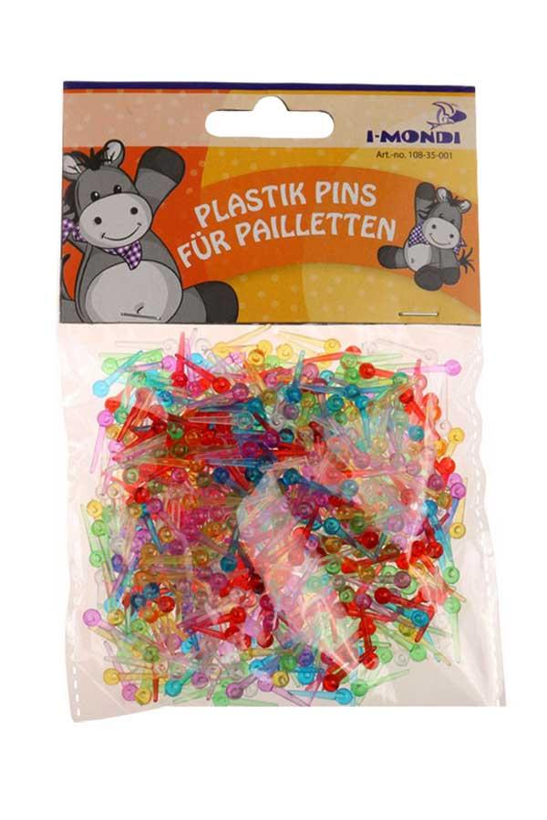 Πλαστικές πινέζες για πούλιες 16mm I-MONDI 10835001