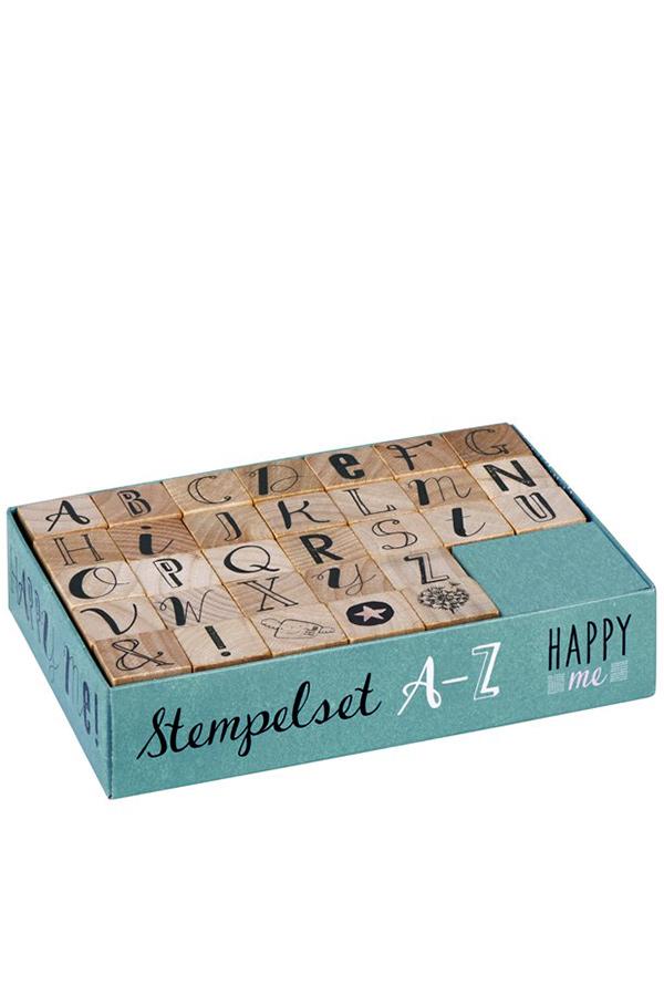 Σφραγιδάκια ξύλινα Αγγλική αλφάβητο moses 63007