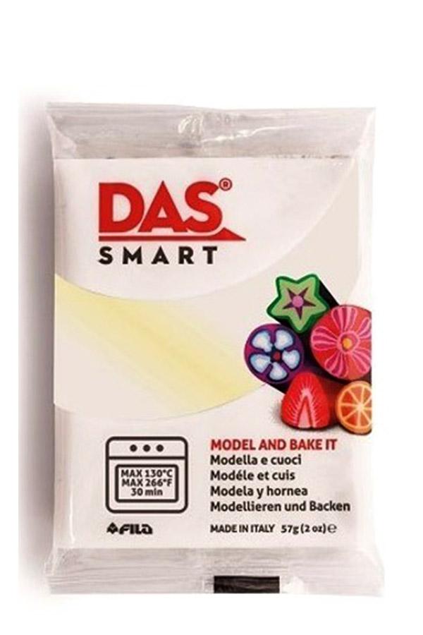 Πολυμερικός πηλός DAS smart 57gr White pearl special 321602