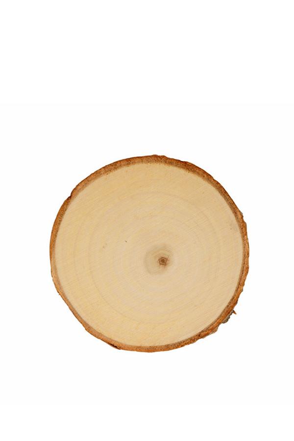 Ξύλινος κορμός δέντρου στρογγυλός 2 τεμ. 11-12cm Artemio 14002959