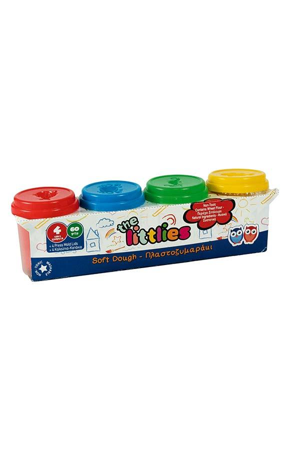 Πλαστοζυμαράκια the littlies 4 χρώματα 0620526