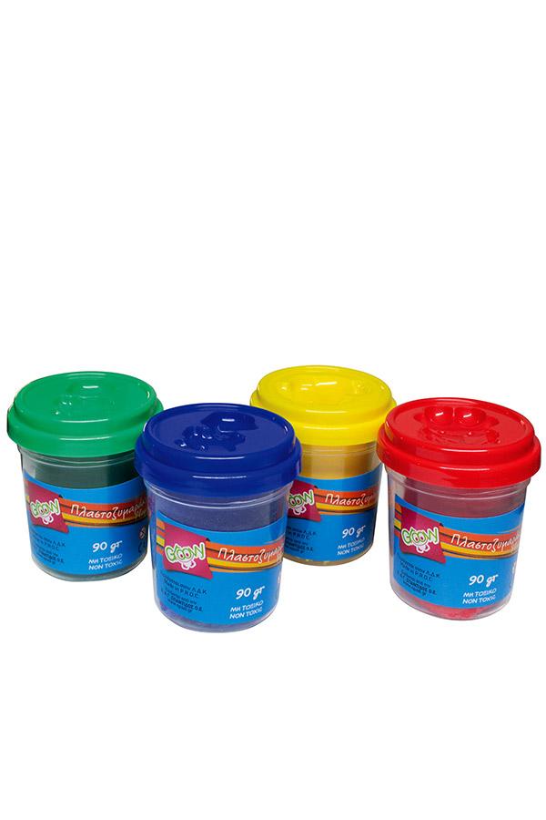 Πλαστοζυμαράκια Groovy 4 τεμ. 0.66.014
