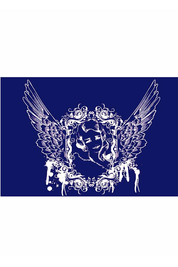Στένσιλ για ύφασμα αυτοκόλλητο 21x15cm Άγγελος Rayher 4502500