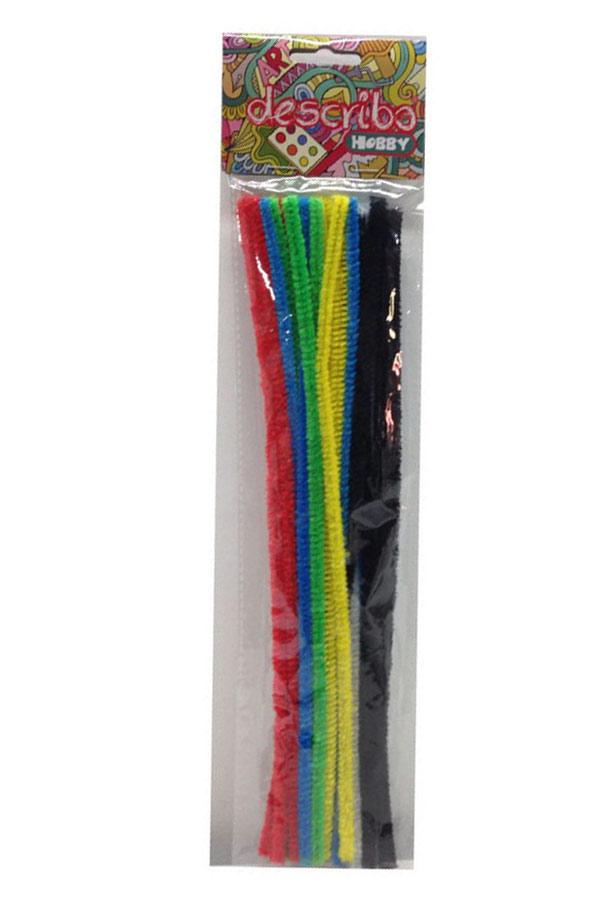Σύρμα πίπας describo 25 τεμάχια ασορτί χρώματα DES-0016