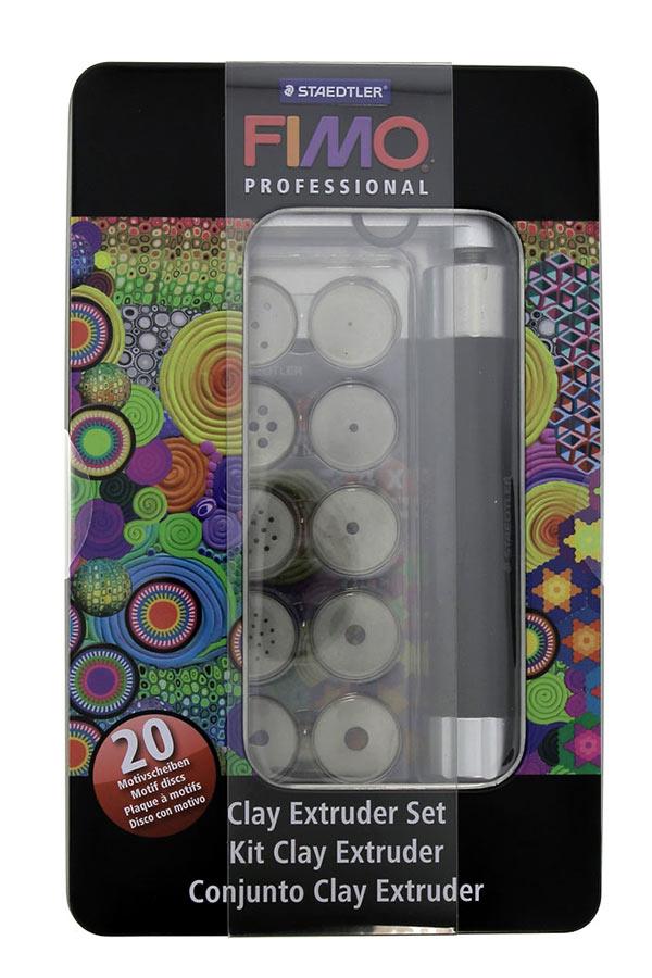 Εργαλεία πλαστικού πηλού σετ 20 motifs STAEDTLER FIMO 870017