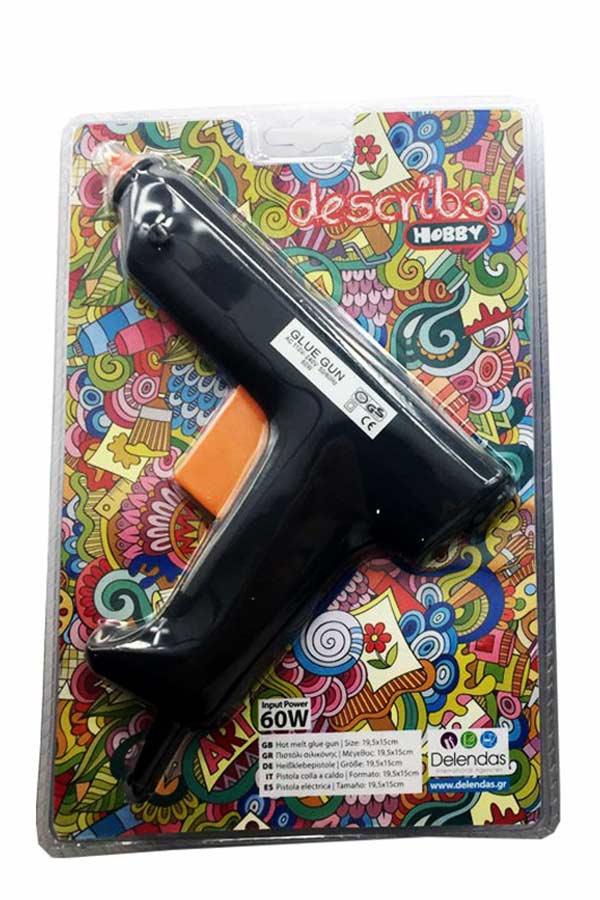 Πιστόλι σιλικόνης 10mm describo HOBBY DES-0027