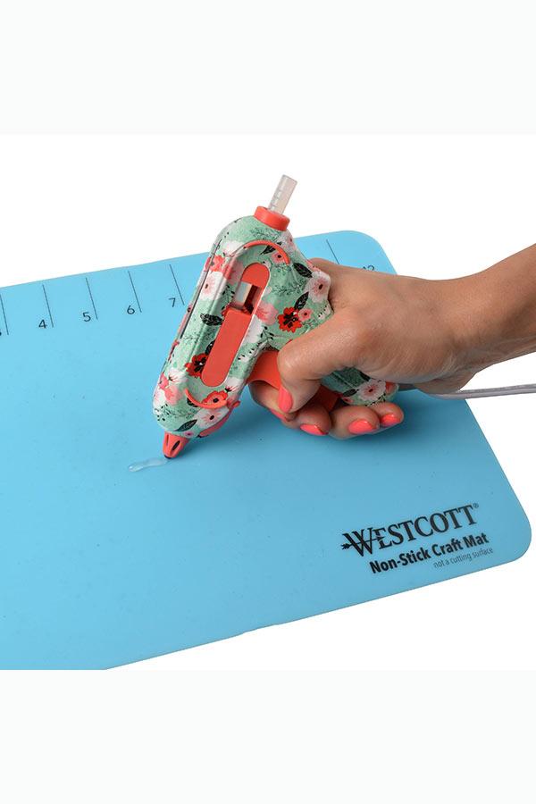 Πιστόλι σιλικόνης mini 7mm WESTCOTT Floral design E-1720100