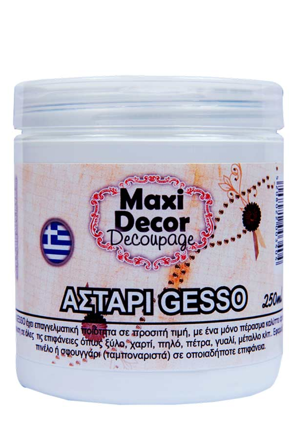 Αστάρι Gesso 250ml Maxi Decor