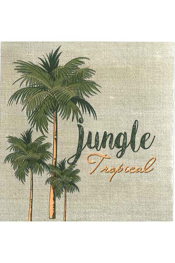 Χαρτοπετσέτα Decoupage 33x33 1τμχ Jungle Tropical 0005816