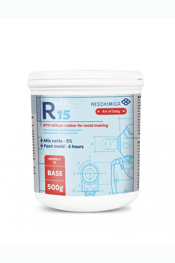 Ελαστική σιλικόνη R15 RESCHIMICA 500gr