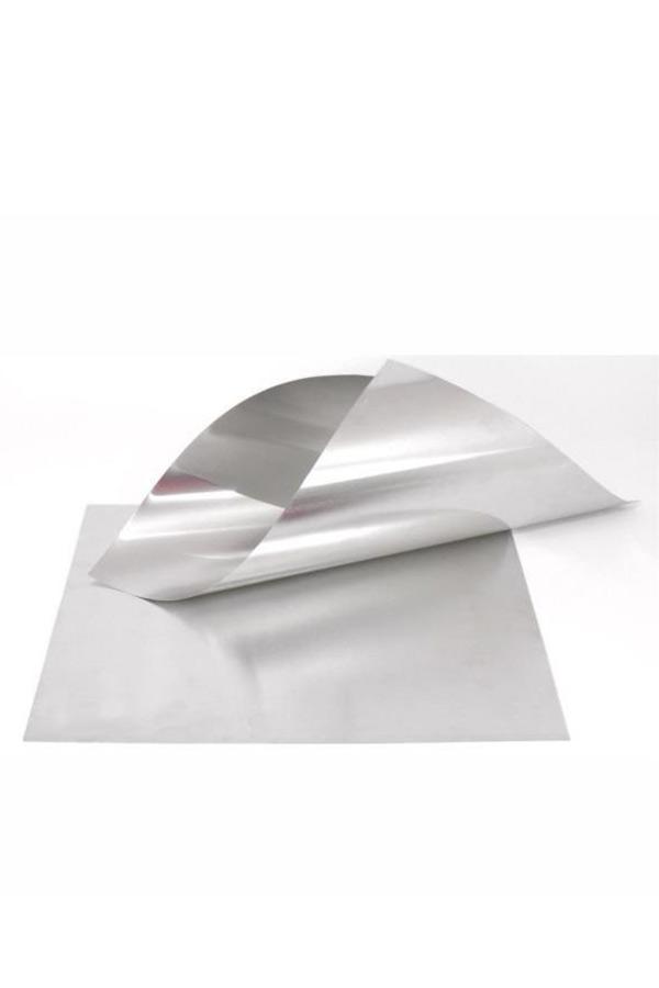 Φύλλο αλουμινίου ασημί 300x400x0.20mm