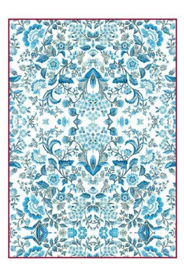 Ριζόχαρτο Decoupage Blue Arabesque 21x29,7cm Stamperia DFSA4298