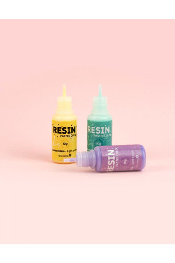 Χρώματα παστέλ εποξειδικής ρητίνης 6 τεμάχια RESCHIMICA