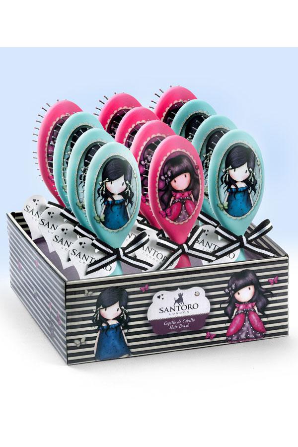 Βούρτσα μαλλιών Santoro gorjuss 3003