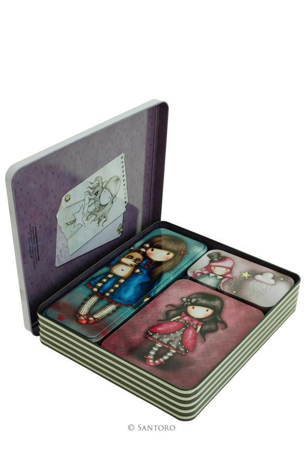 Μεταλλικά κουτιά Santoro gorjuss 452GJ01