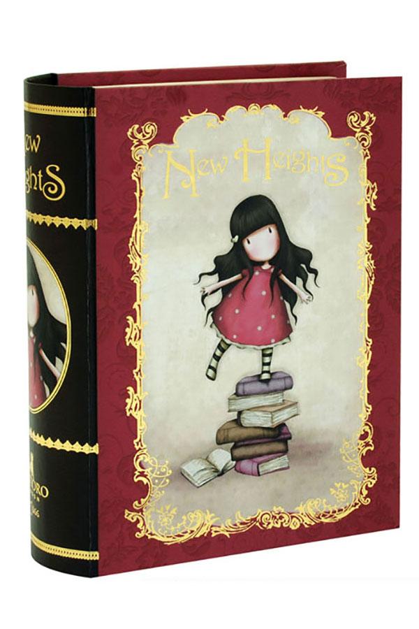 Χάρτινα κουτιά Book boxes σετ 2 τμχ Santoro gorjuss Chronicles 411GJ06