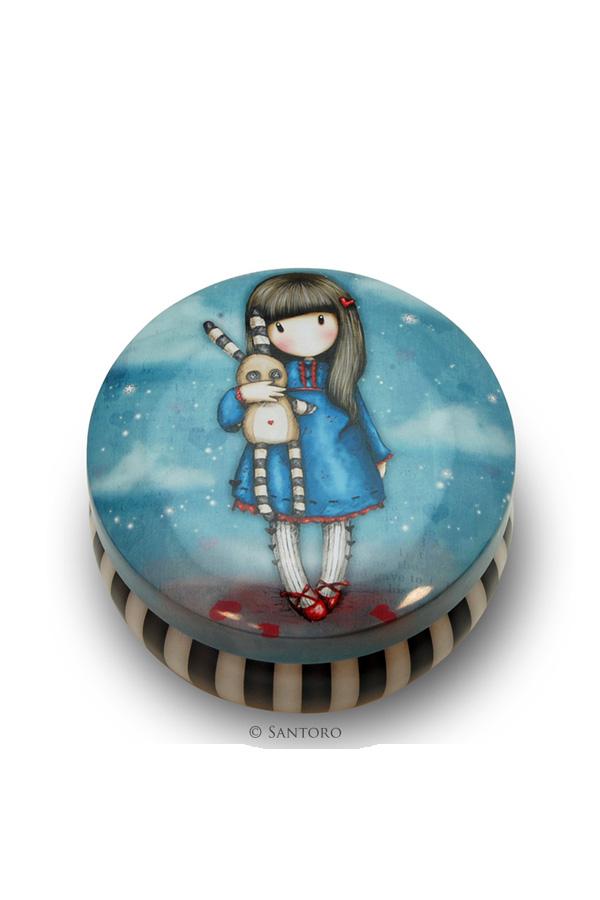 Μεταλλικό κουτάκι Santoro gorjuss - Hush little bunny