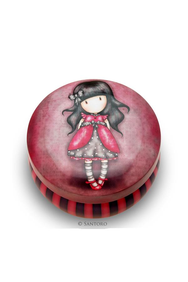 Μεταλλικό κουτάκι Santoro gorjuss - Ladybird 242LB