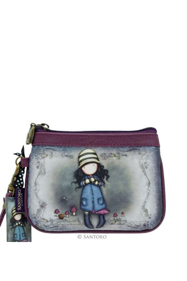 Πορτοφόλι με φερμουάρ Santoro gorjuss - Toadstools 339GJ06