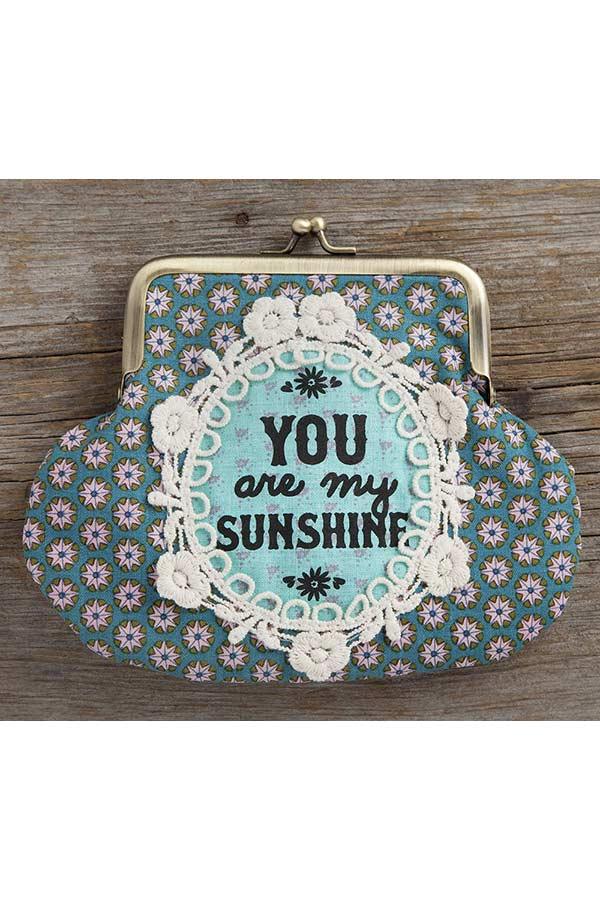 Πορτοφόλι με κούμπωμα Natural Life You are my sunshine CPRS106