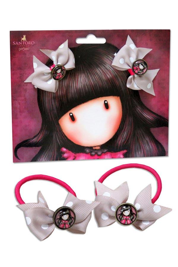 Λαστιχάκια μαλλιών Santoro gorjuss - Ladybird EB-11-G