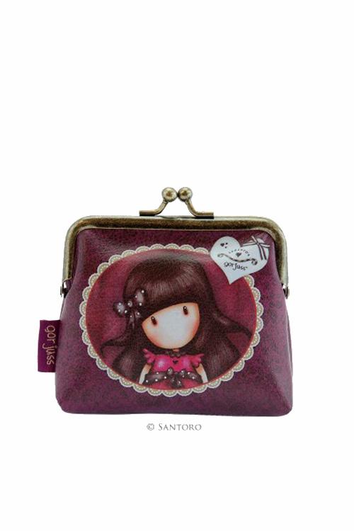 Πορτοφόλι με κούμπωμα Santoro gorjuss Ladybird 244GJ07